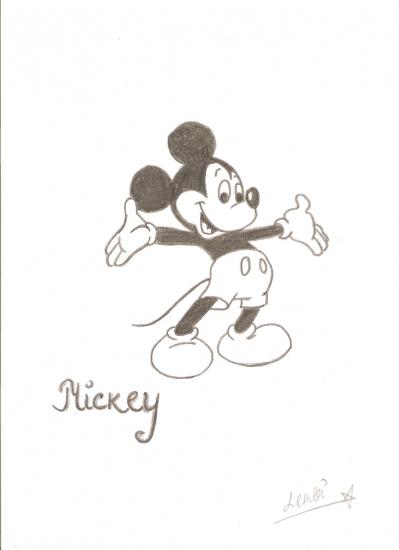 Mickey Mouse by -lembi-